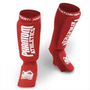 Køb de røde Phantom athletic impact benbeskyttere