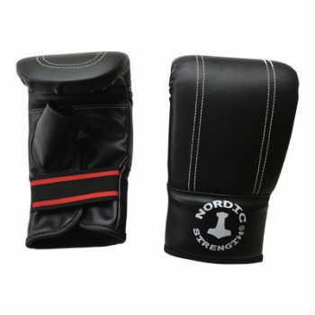 Køb de gode billige onesize sorte boksehandsker til sandsæk træning