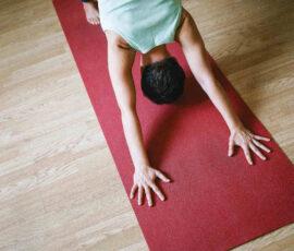 Yoga et kvarter om dagen