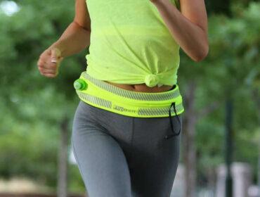 brug et flipbælte til løb og fitness