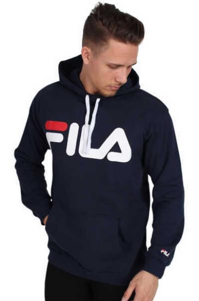 køb en fed Fila hættetrøje som mand