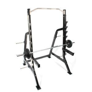 brug et pro rack til squat træning af ben