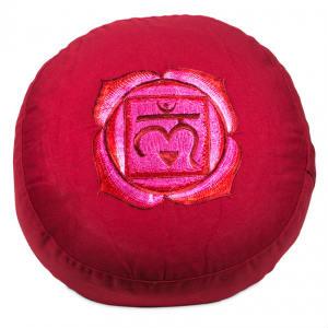brug en rund pude til meditation