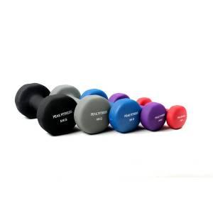 køb Peak Fitness Neopren Håndvægtsæt 1-5 kg.