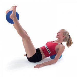 rygøvelser med pilates bold